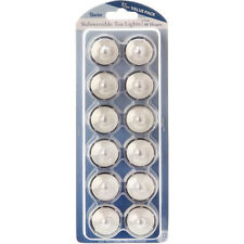 Battery Operated Submersible Tea Lights 12/Pkg