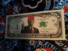 Donald Trump 2017 *Red Hat* Dollar/FAKE MONEY. New. FREE SHIPPING!