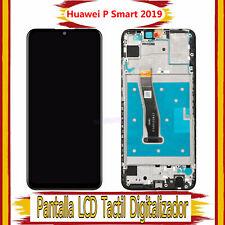 Pantalla Para Huawei P Smart 2019 POT-LX1 LCD Tactil Con Marco Reemplazo Negro