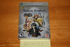 Tales of Vesperia Special Edition (Xbox 360) NEW SEALED NEAR-MINT SUPER RARE LE!