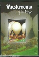 MICRONESIA  2013  MUSHROOMS OF THE PACIFIC  SOUVENIR SHEET II   MINT NH