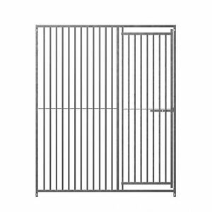 Galvanised dog run panels kennel 8cm gap all sizes by Doghealth