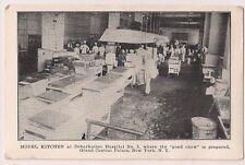 Model Kitchen Debarkation Hospital Grand Central Palace New York NY Military