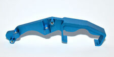 TRAXXAS REVO BLUE ALUMINUM ALLOY ENGINE MOUNT SIDE SUPPORTS