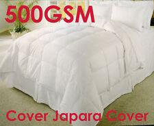 500GSM Microfibre Duvet Quilt Doona WINTER WEIGHT - QUEEN