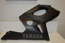 2006 Yamaha YZF600R YZF 600 flat black right side fairing body panel