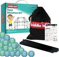 Fort Building Kit – Kids Fort for Ages 5 and Up – DIY STEM Fort Builder