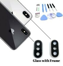 For iPhone X Back Camera Lens Glass Replacement Frame Cover Repair Tools