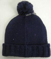 Bonnets bleues en acrylique pour femme