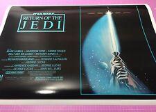 RETURN OF THE JEDI • A1 size poster • movie film original print