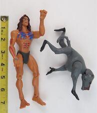 TARZAN ACTION FIGURE - TARZAN (BABOON BATTLE) - 1999 - MATTEL
