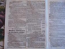 1870 Augsburg Zeitung 12b / München Volks-Theater Versteigerung / Halle