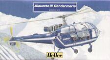 HELLER 1/72 ALOUETTE III GENDARMERIE Nº 80286