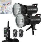 Godox 2x 400w SK400 Photography Studio Strobe Flash Light Kit Set For Wedding