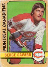 1972-73 O-Pee-Chee #185 Serge Savard Montreal Canadiens