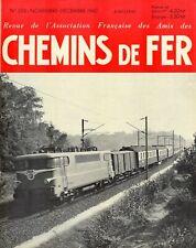 revue AFAC monomoteur 16500 4p, loco diésel 6p, Paris-Calais 8p, marchandise 16p