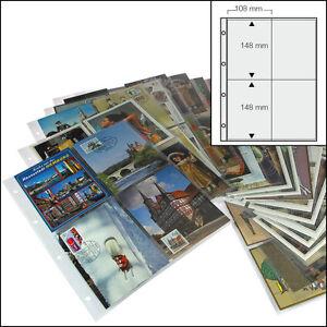 100 SAFE 5471  FOTOHÜLLEN ANSICHTSKARTENHÜLLEN POSTKARTENHÜLLEN  10  x 15 CM  A4