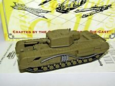 MATCHBOX DINKY CHURCHILL MK VII TANK - UK 1/72 DYM37584