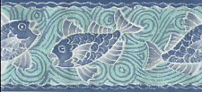 FISH UNDER THE SEA-TEXTURED WALLPAPER BORDER