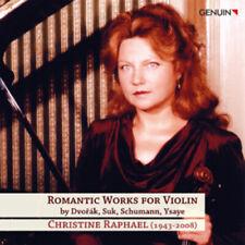 Antonin Dvorák : Romantic Works for Violin CD (2011) ***NEW*** Amazing Value