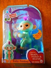 Authentic Fingerlings Monkey by WowWee: (ZOE) from walmart comes with tree stand
