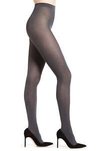 Falke Women's 179847 Cotton Touch 65 Opaque Tights grey Anthracite Mix Size L