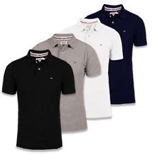 Tommy Hilfiger Herren Polo T-shirt 4 Farben Neu S-XXL