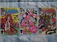 Marvel Uncanny X-Men Lot 187, 188, 192