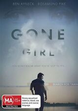 Gone Girl (2015) BEN AFFLECK ROSAMUND PIKE GENUINE AUST REGION 4 DVD NEW SEALED