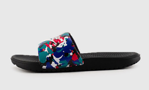 NIKE  Kawa Melted Crayon Slides Sandals Grade School Kids Multi Color