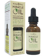Earthly Body Hemp MIRACLE OIL 100% Natural ~Shave Bumps & Irritation