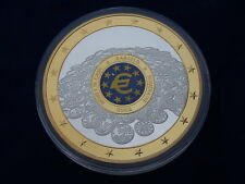 MEDAILLE / Medal - GEANTS EURO - MONEY IN CASH 2002 - FDC / UNC