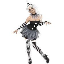 Sinister Pierrot Halloween Costume, Evil Clown Costume, Evil Circus, Halloween