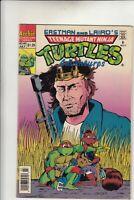 Teenage Mutant Ninja Turtles Adventures #46 Comic Book Archie Poor Laminated