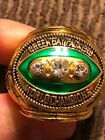 1967 BART STARR COMMEMORATIVE CHAMPIONSHIP RING PACKERS SIZE 11