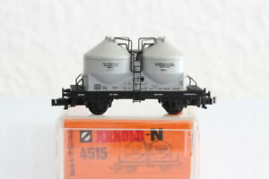N ARNOLD 4515 Staubwagen grau Waggon GÜTERWAGEN boxcar OVP J55