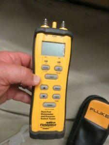 XLNT Fieldpiece sdmn6  dual port manometer & pressure switch tester