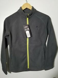 1 NWT SUN MOUNTAIN WOMEN'S JACKET, SIZE: X-SMALL, COLOR: STEEL/LIME (J133)