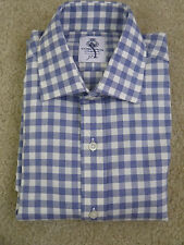 $128 Cordings™ for J.Crew shirt in twill gingham Small Item E2464 NWOT!