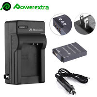 EN-EL12 Li-on Battery & Charger for Nikon Coolpix AW110 AW100 S8200 S6000 S6300