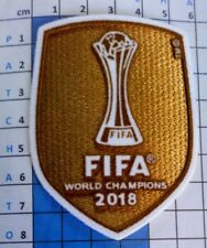 FIFA Patch badge foot World champions club les maillots du Real de Madrid 18