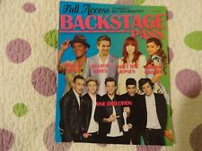 ONE DIRECTION-TAYLOR SWIFT-BRUNO MARS-JUSTIN BIEBER++  2013 BACKSTAGE PASS Music