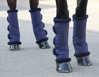 SHIRES SHORT SOFT FLEECED LINED TRAVEL BOOTS - HORSE/PONY