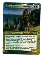 Siona, Captain of the Pyleas Altered Full Art MTG Magic Commander EDH Gift