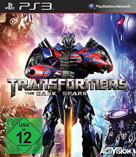 SONY PS3 Transformers: The Dark Spark PlayStation 3 deutsch OVP gebraucht