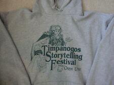 Timpanogos Storytelling Festival Orem Utah Wizard Warlock Magic Sweatshirt L