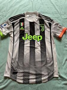 maglia juventus Match Worn  Issued Palace Juventus Genoa 19/20
