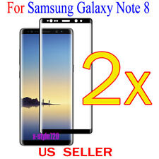 2x Full Cover Curved Clear Screen Protector Guard Film For Samsung Galaxy Note 8
