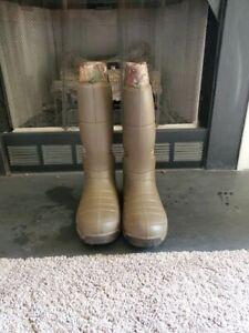 "Lacrosse Aerohead 18"" Hunting Fishing Boots Work Used Size 12"