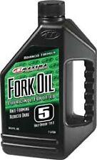 IN STOCK MAXIMA FORK OIL 5W - 1 LITER bottle 54901 - 78-9914